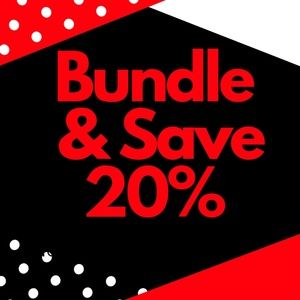 Bundle & save 20%